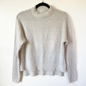 Garage Grey Knit Sweater Size Extra Small